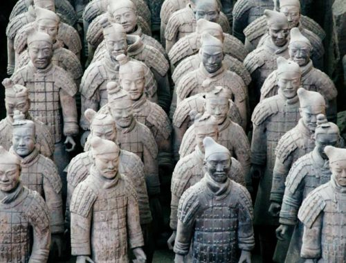 xian armee terre cuite - Blog voyages chine